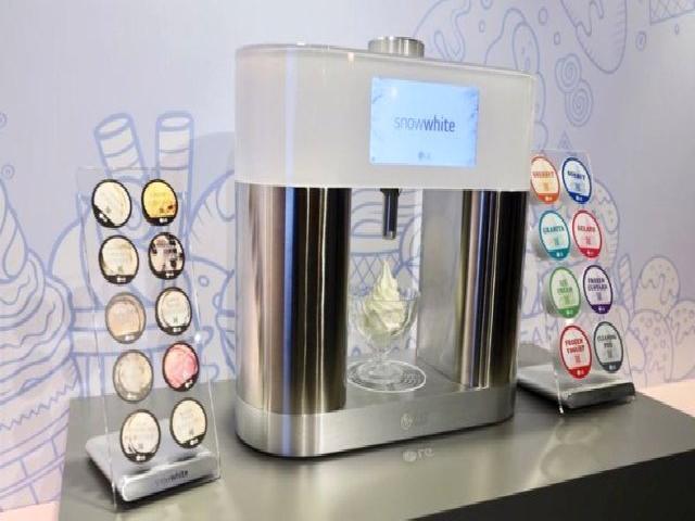 Lg'nin Snowwhite Makinesiyle Evde Dondurma Yapmak Mümkün Olacak