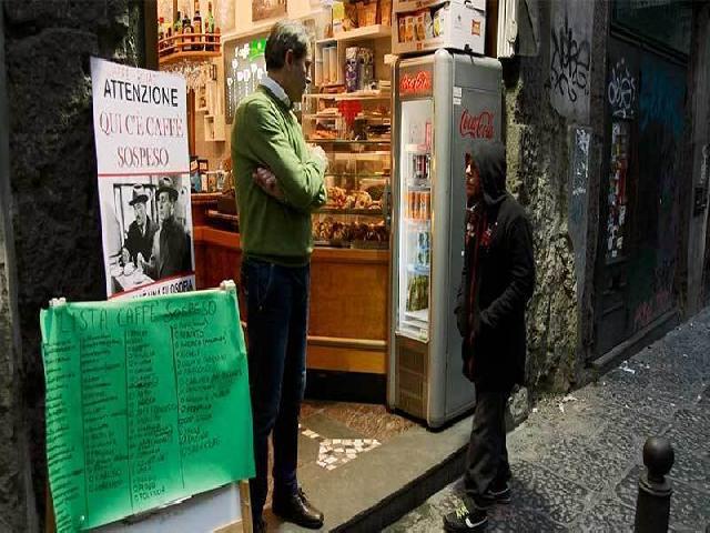 Caffè Sospeso: İtalyan işi kahve belgeseli