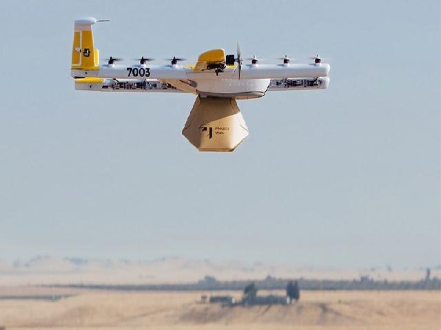 Olmaz demeyin: Drone'la kahve servisi!